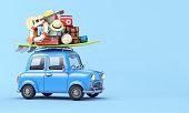 Travel concept 3d illustration
