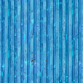 Flaking paint texture of the old container. Blue cargo ship container repeating texture