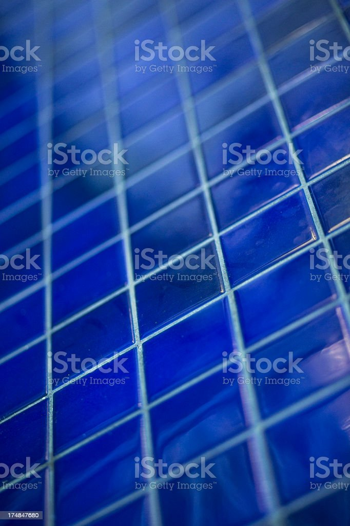 Blue ceramic background stock photo