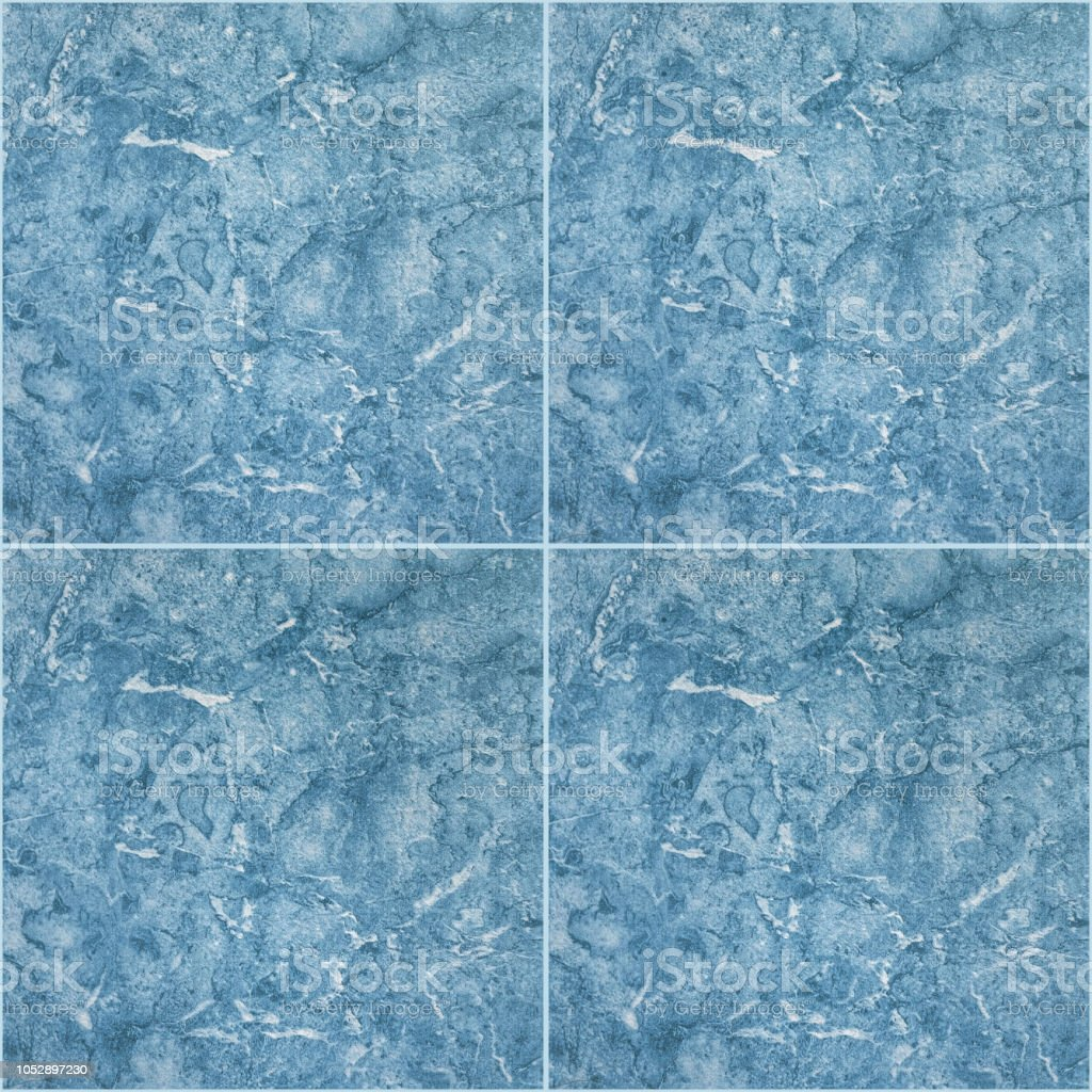 Blue Ceramic Floor Tiles Stock Photo Download Image Now Istock