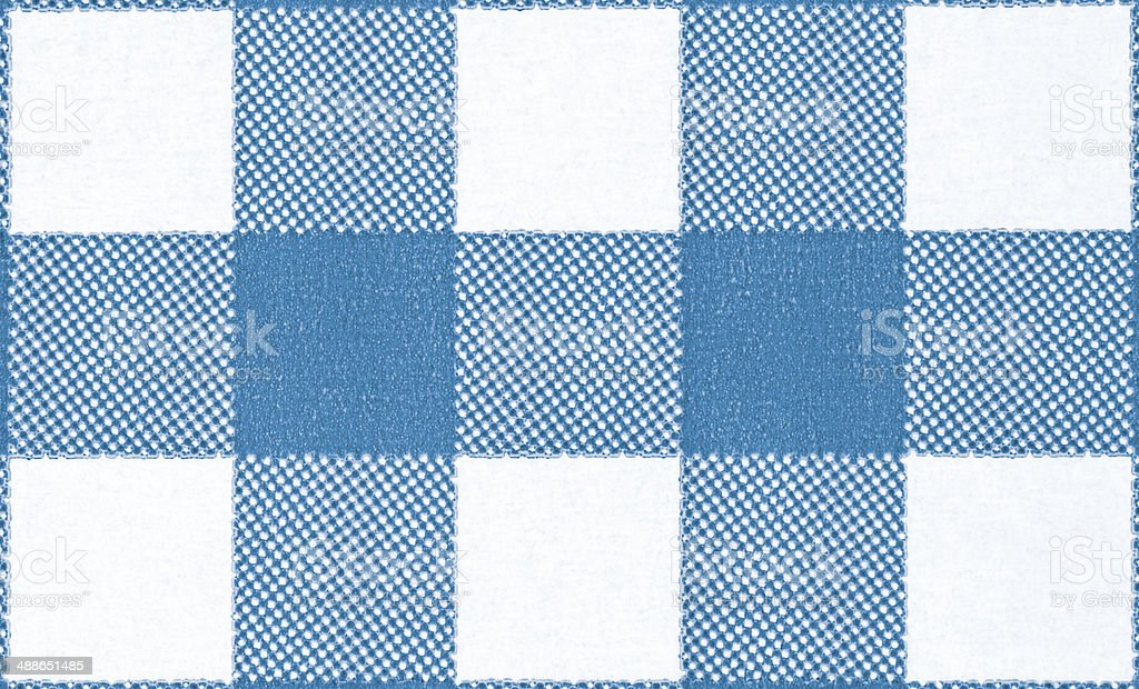 Blue Checkered Background royalty-free stock photo