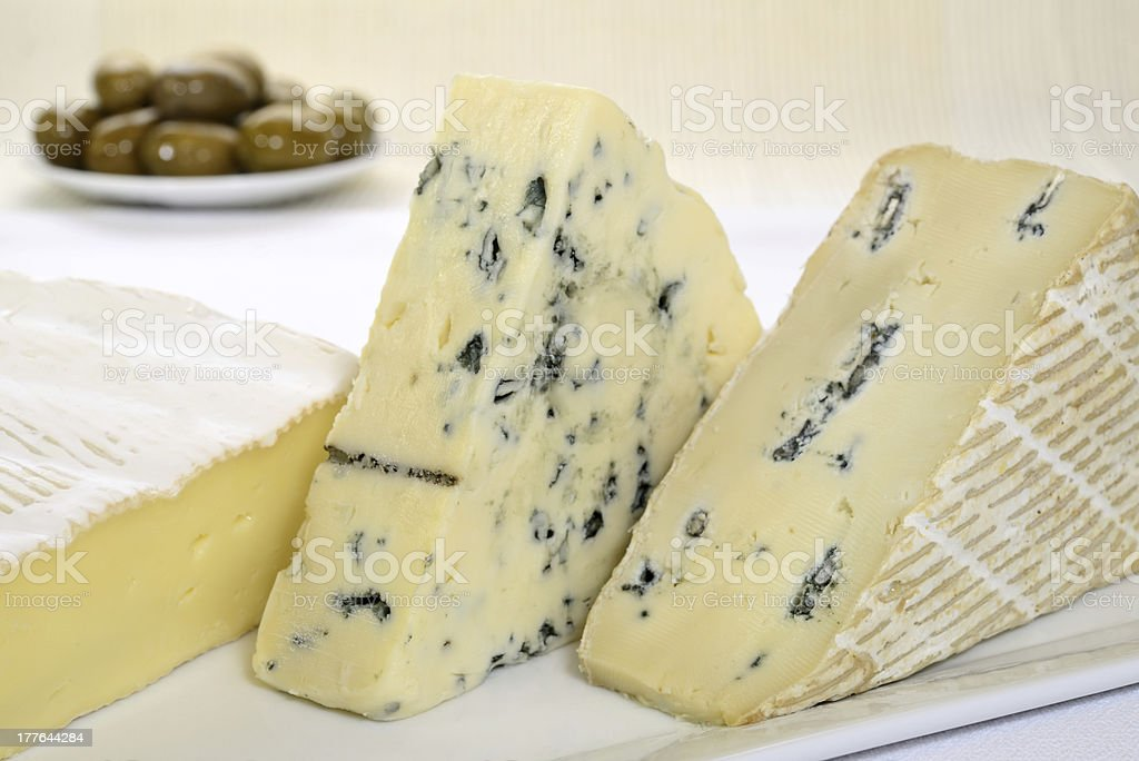 Blue cheese royalty-free stock photo