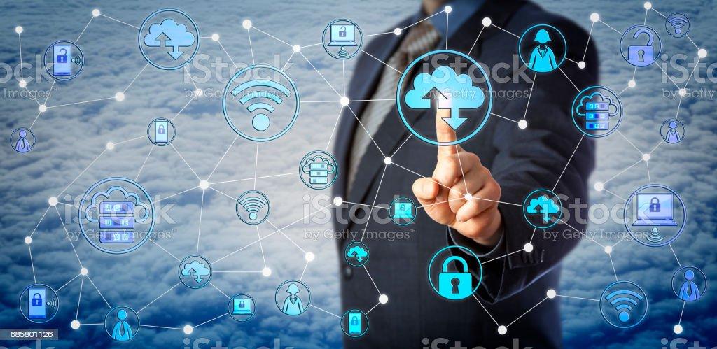 Blue Chip cliente teste Enterprise Mobility - foto de acervo