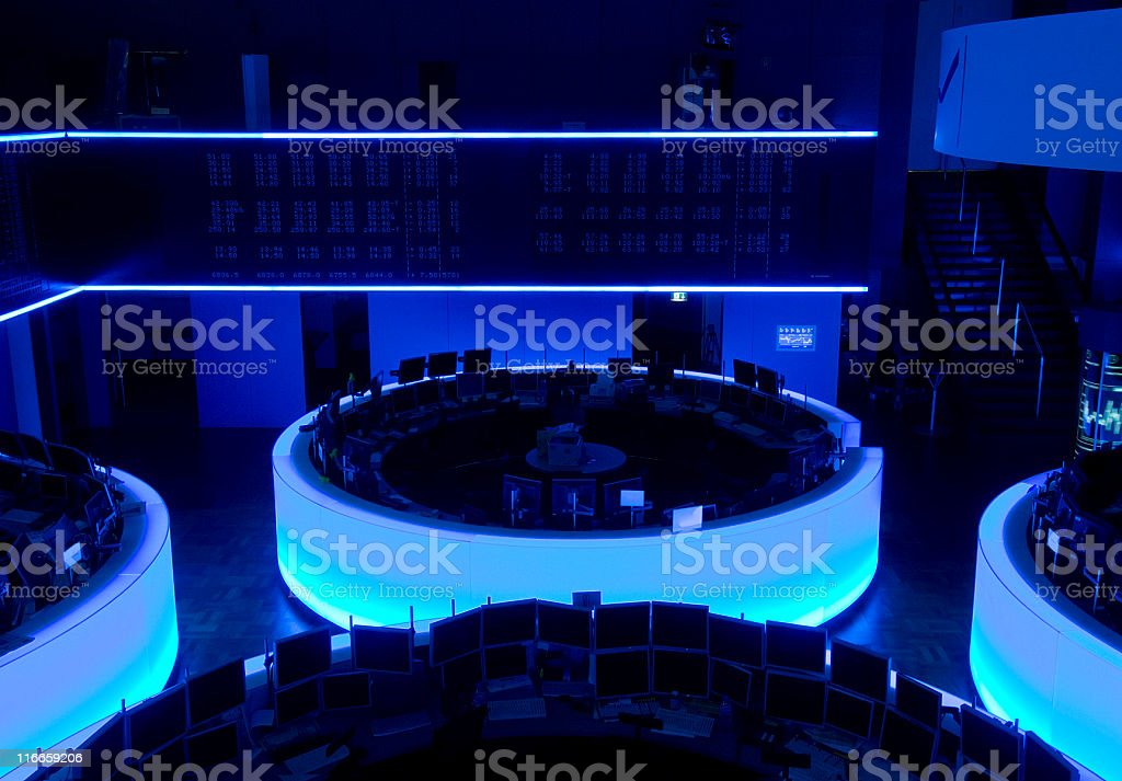Blue Chips royalty-free stock photo