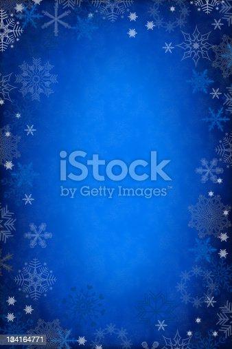 istock blue christmas background 134164771