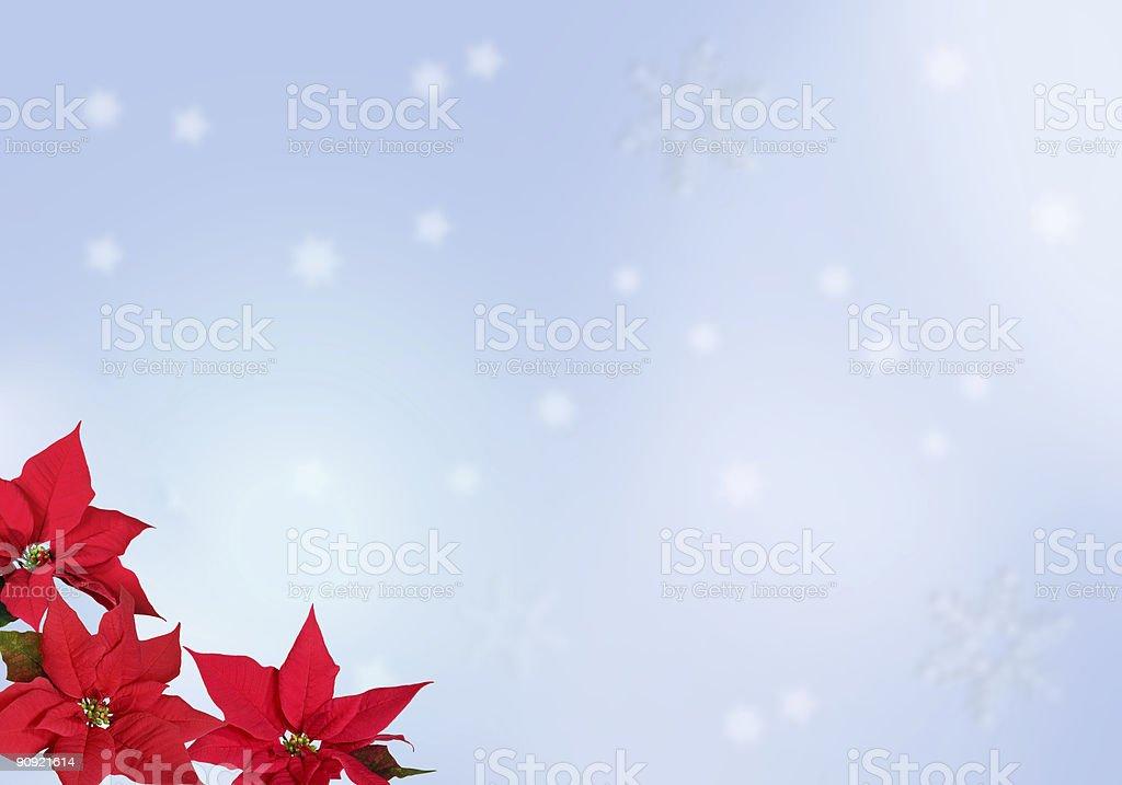 Blue Christmas Background royalty-free stock photo