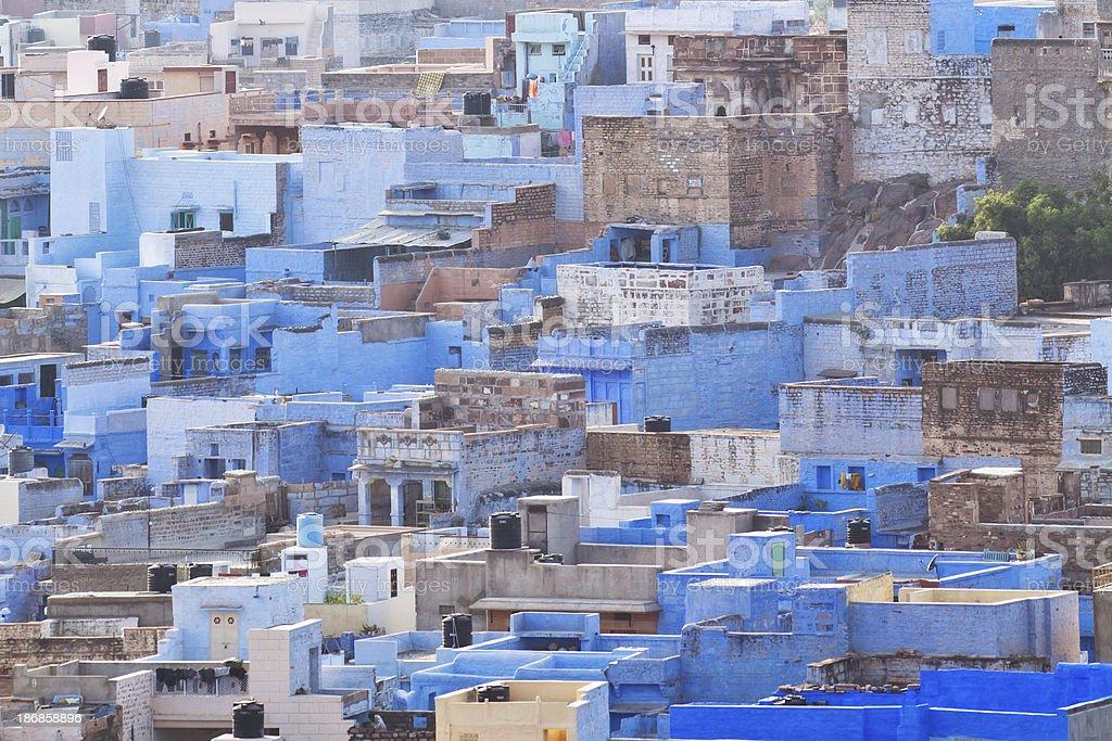 Blue City - Jodhpur royalty-free stock photo