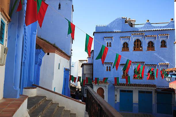 Blaue Stadt von Marokko – Foto