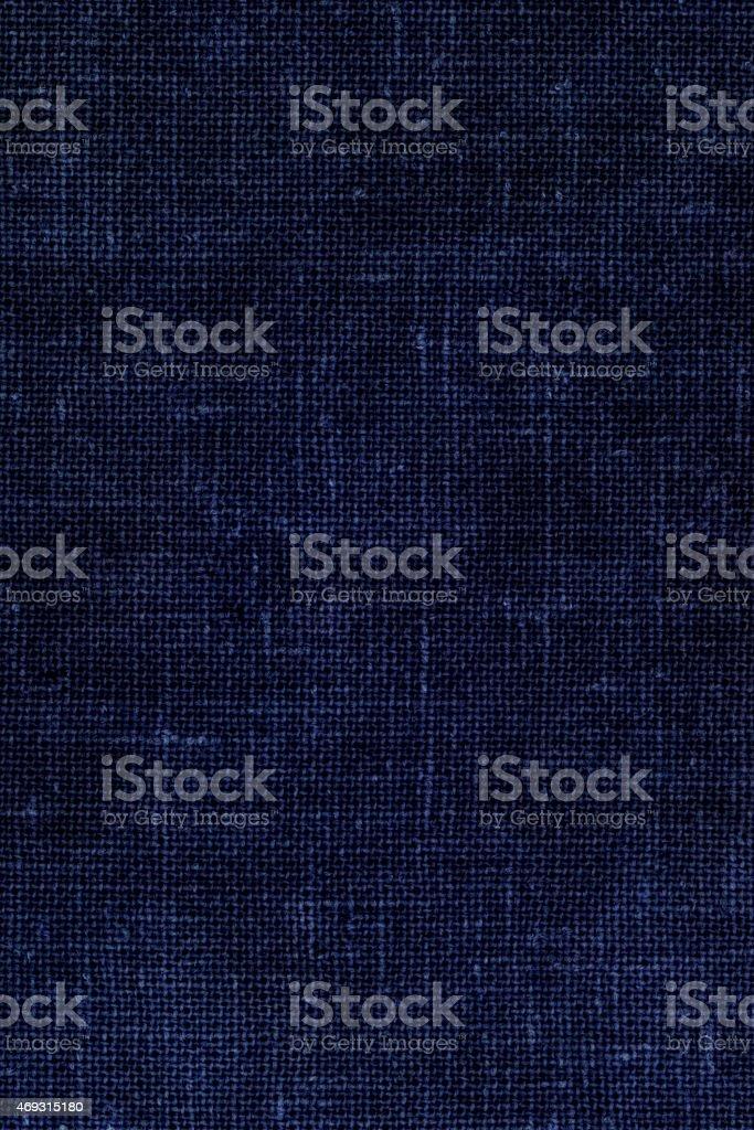 Blue Cloth Background Dark Textile Canvas stock photo