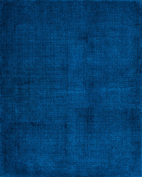 blue cloth background - mesh textile stock photos and pictures