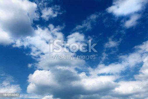 istock blue cloudy sky 184314042