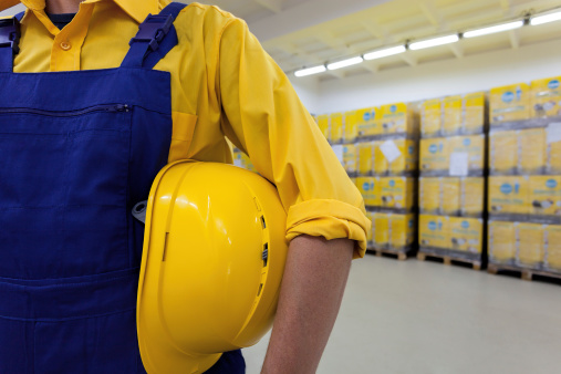 Blue Collar Worker Stock Photo - Download Image Now