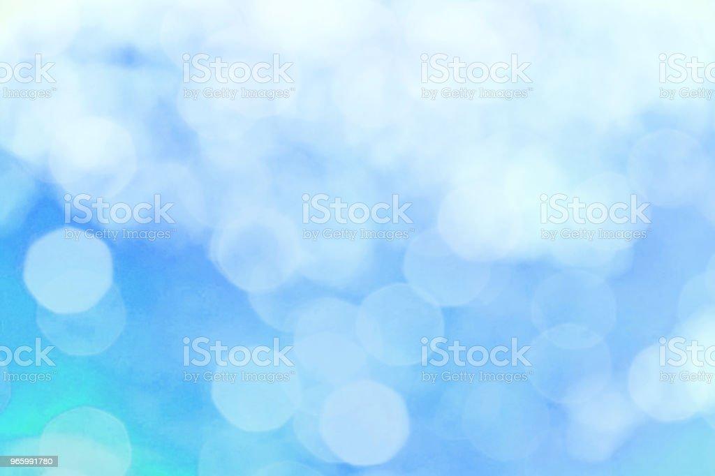 blaue Farbe abstrakten Hintergrund mit verschwommenen Unschärfe Bokeh Licht für Vorlage - Lizenzfrei Abstrakt Stock-Foto