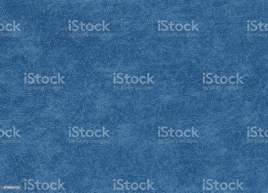 Blue color artificial leather pattern. stock photo