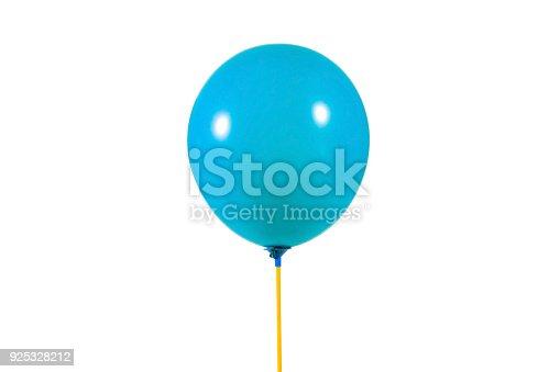 istock Blue color balloon 925328212