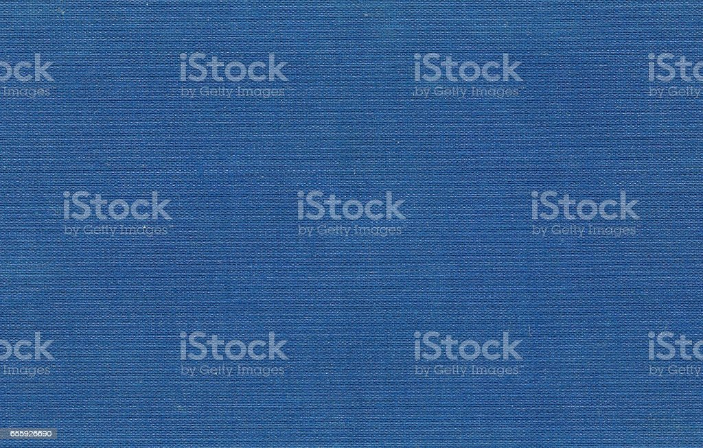Blue color canvas pattern stock photo