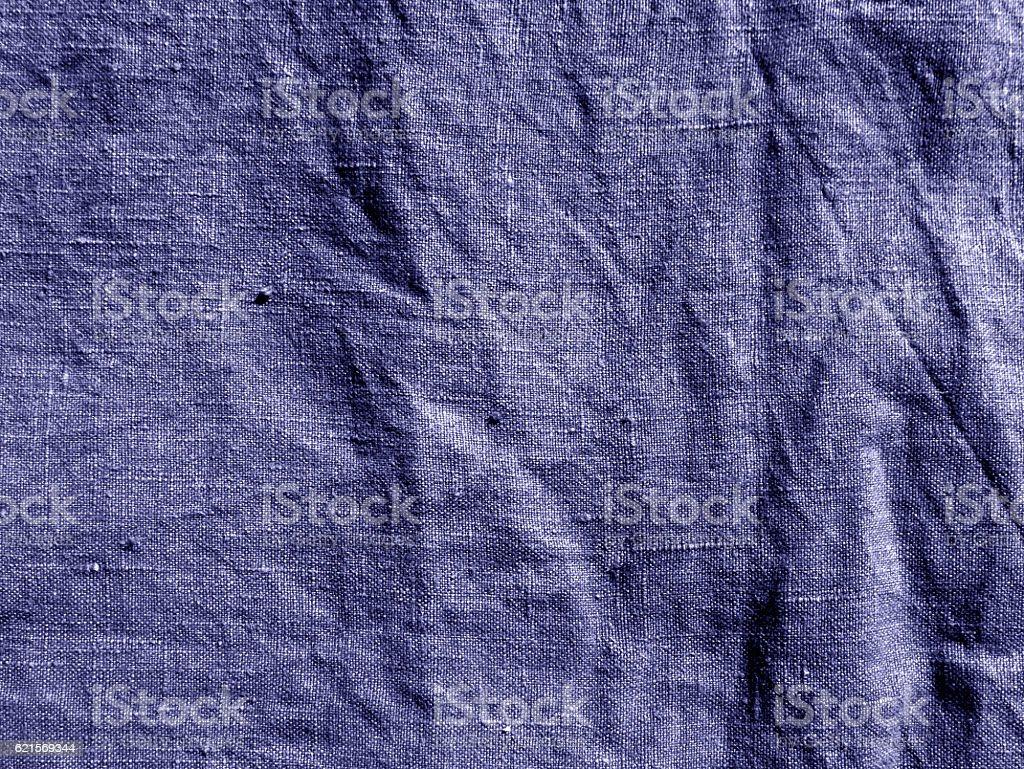 Blue color cotton cloth. photo libre de droits