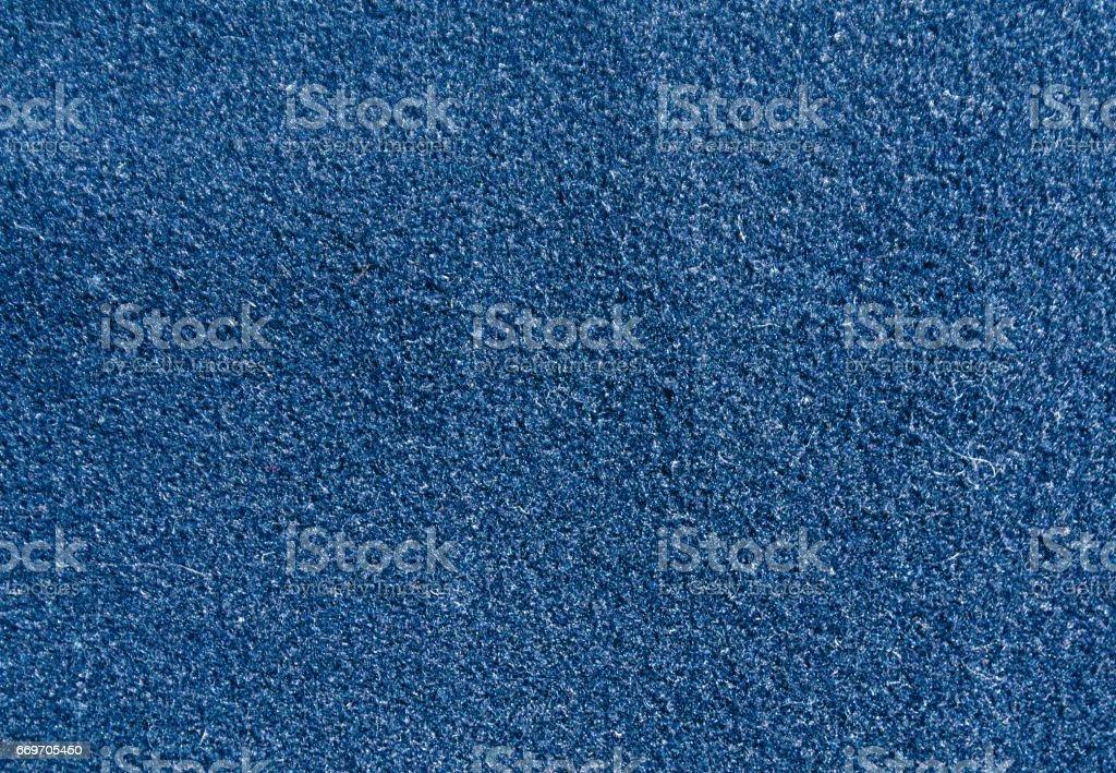 Blue color felt pattern. stock photo