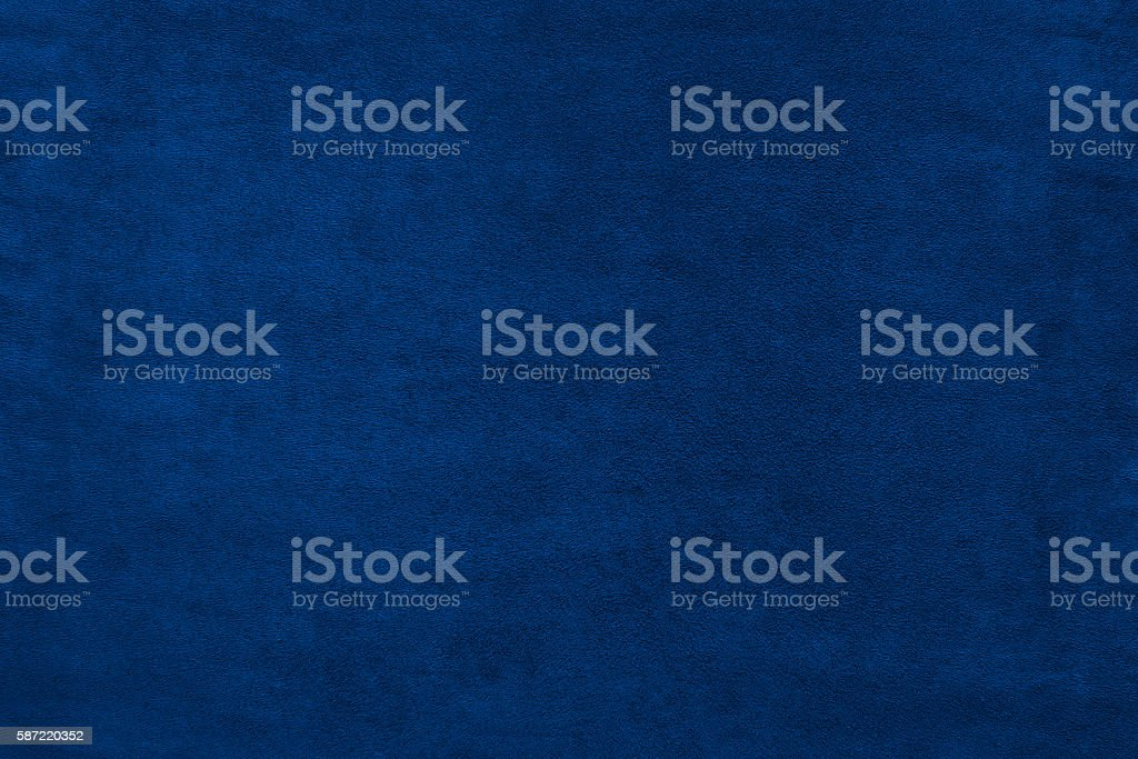 Blue color velvet texture background 스톡 사진