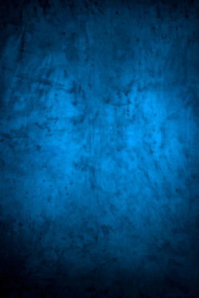 Blue Colored Defocused Pattern