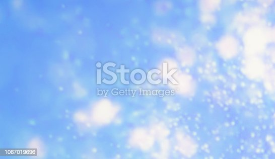 605740894 istock photo Blue colors Watercolor art border background 1067019696