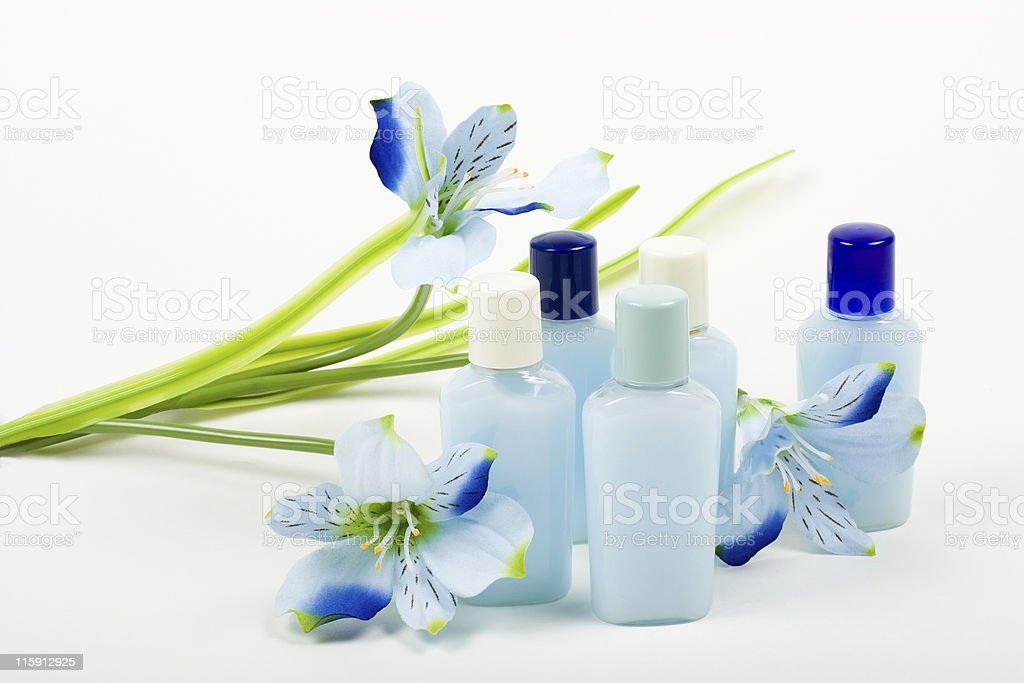 Blue Composition royalty-free stock photo