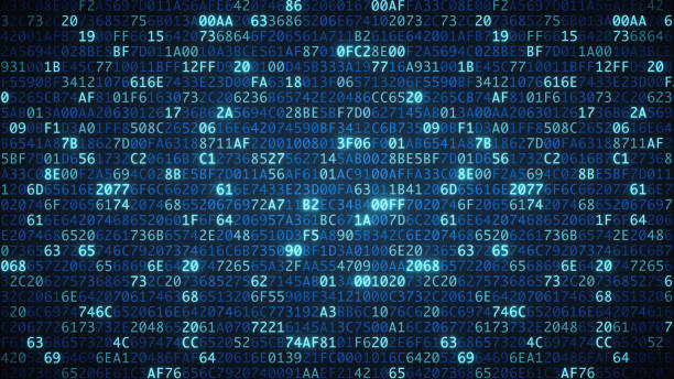 blue computer code wallpaper simple - number stock pictures, royalty-free photos & images