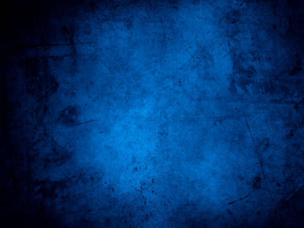 blue concrete background - grunge image technique stock pictures, royalty-free photos & images