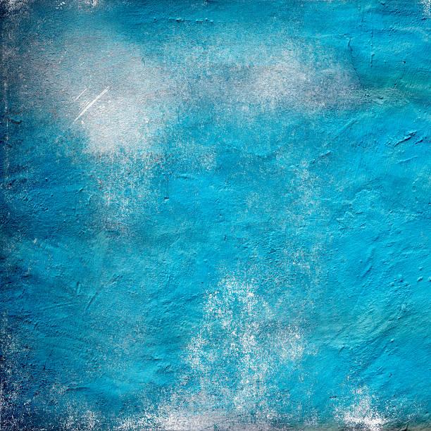Azul de fundo de parede de concreto - foto de acervo