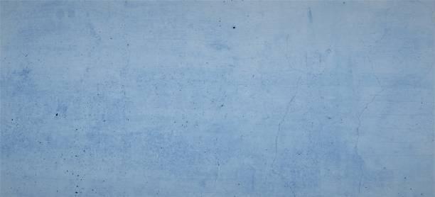 Blaue Betonwand, Blauer Hintergrund, Wasserfarben, Hellblaue Textur, verwaschener, Pastellblau, Pastell Hintergrund, Zement Struktur 60MP – Foto