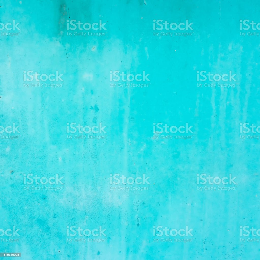 Blue concrete wall texture background stock photo