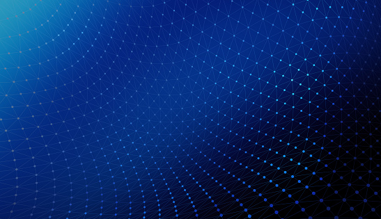 944923496 istock photo Blue connection lines background for technology concept, 3d illustration 949103872