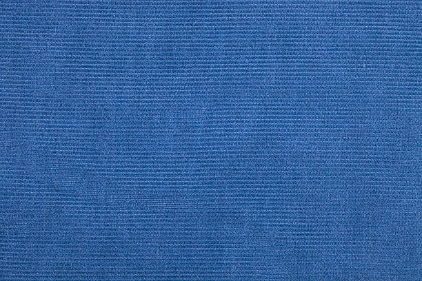 blue corduroy - corduroy stock pictures, royalty-free photos & images