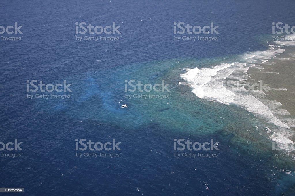 Blue Corner - Palau stock photo