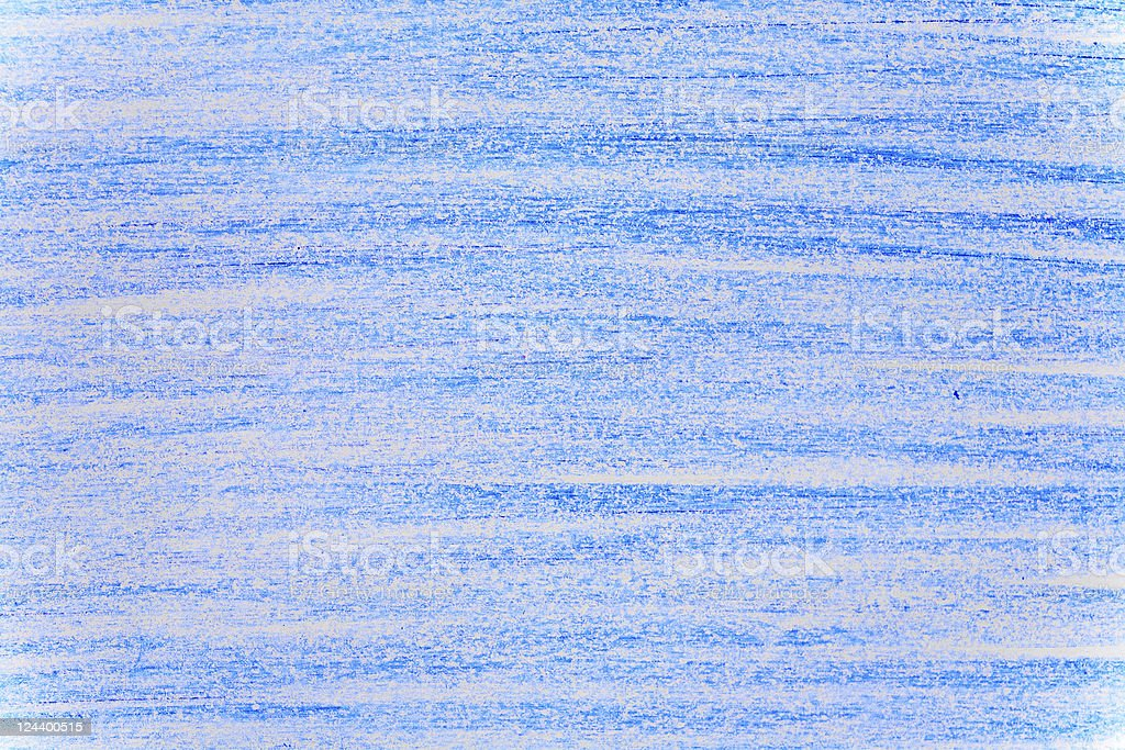 Blue Crayon Background royalty-free stock photo