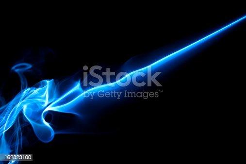 istock blue, creative abstract vitality impact smoke photo 162823100