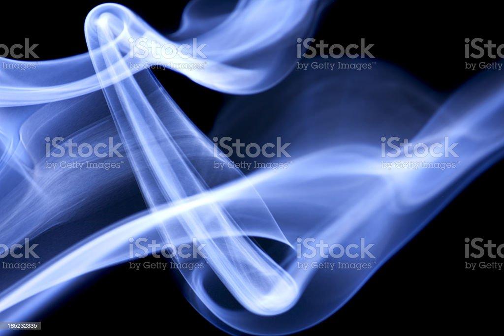 blue, creative abstract vitality impact smoke photo royalty-free stock photo