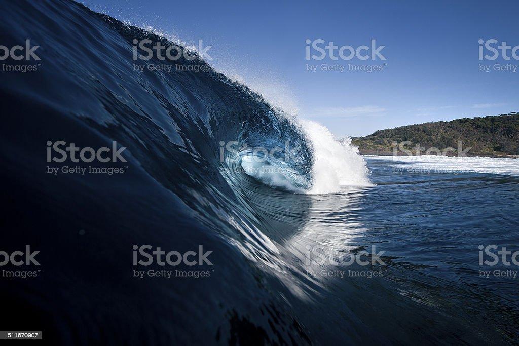 Blue Crush stock photo
