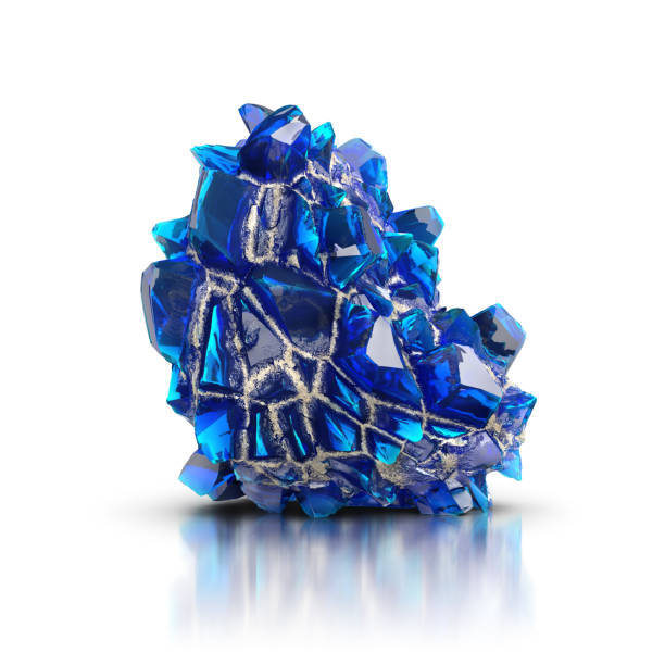 Cтоковое фото blue crystal