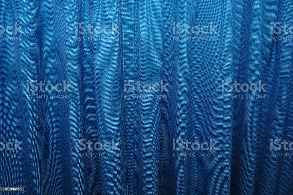 Blue curtain royalty-free stock photo