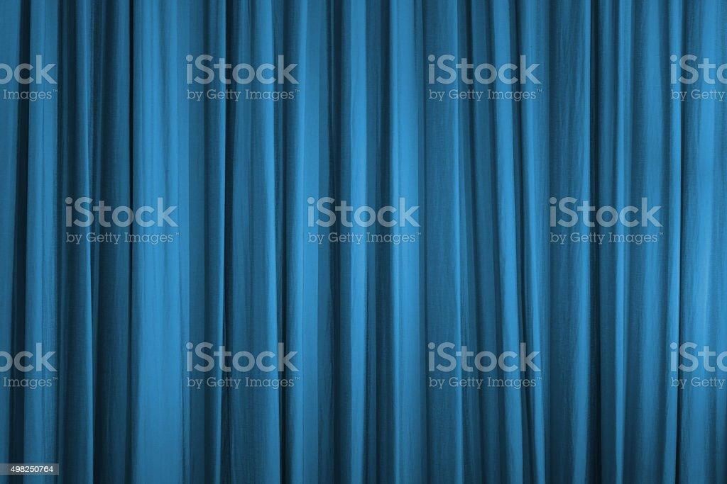 Blauer Vorhang – Foto