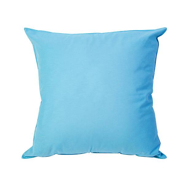 синие подушки - подушка стоковые фото и изображения