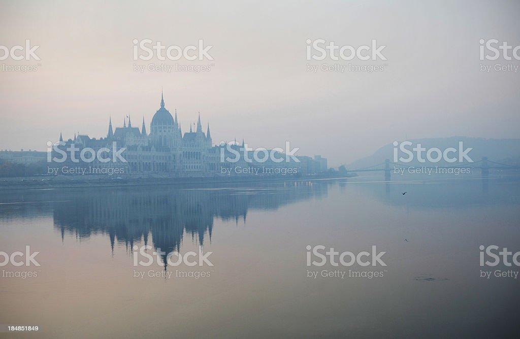 Blue Danube stock photo