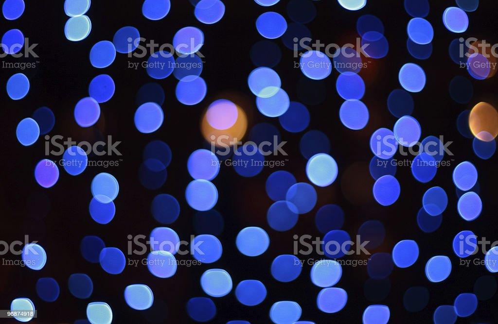 defocus spots Hintergrund Blau Lizenzfreies stock-foto