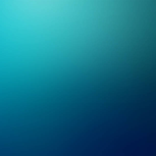 blue defocused blurred motion abstract background illustration - teal backgrounds stock photos and pictures