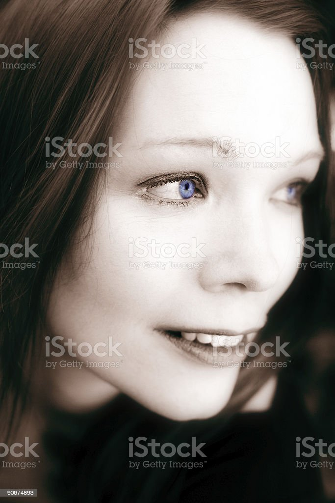 Blue Delight royalty-free stock photo