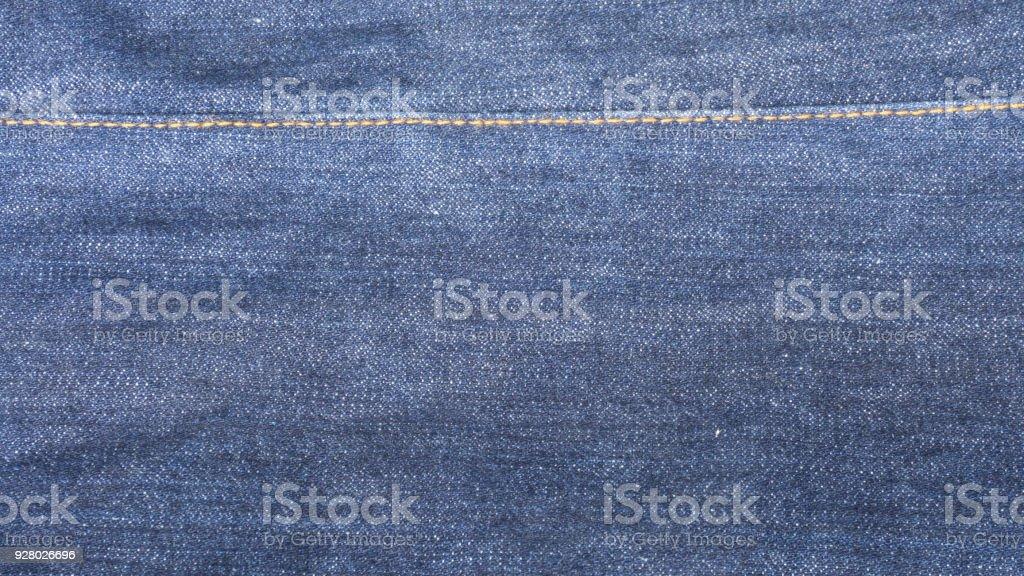 7ac73396485 Blue Denim Jeans Cloth As Background Close Up Inside Of Raw Denim ...