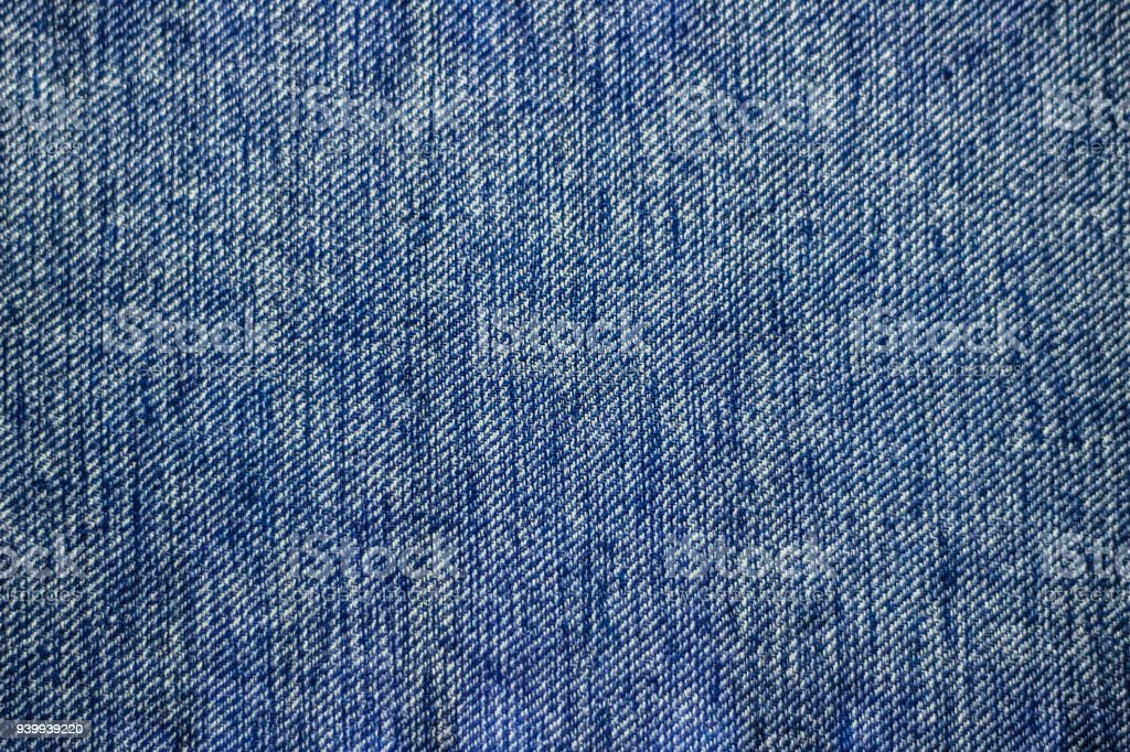 blue denim jeans texture background can be used as wallpaper horizontal orientation stock photo