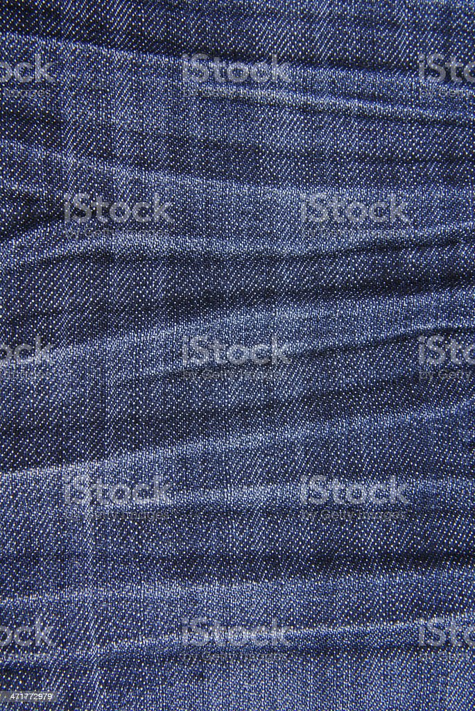 Blue denim jeans texture background royalty-free stock photo