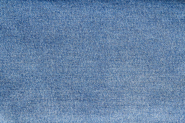 blue denim jeans texture - jeans stock photos and pictures